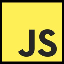 Icono de lenguaje de programación Javascript