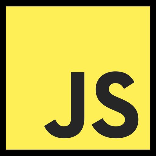 Icono del lenguaje de programación Javascript Transparent PNG