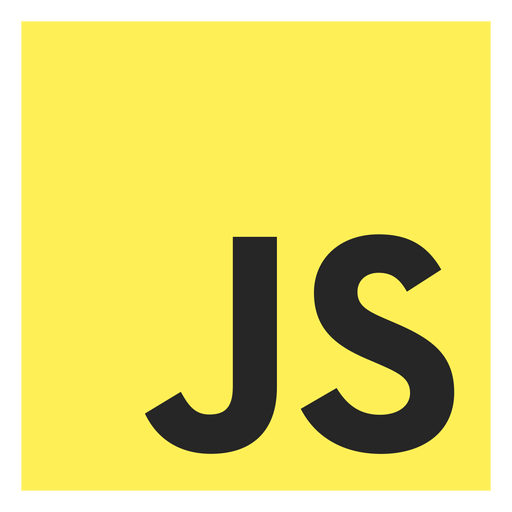 Javascript programming language icon Transparent PNG