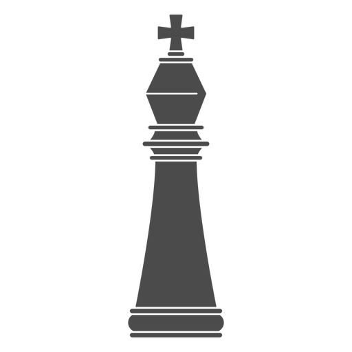 King chess piece Transparent PNG