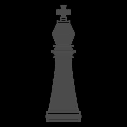 Pieza de ajedrez rey