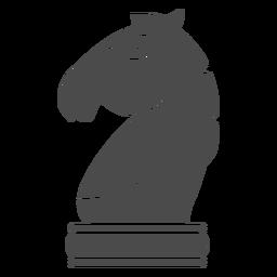 Pieza de ajedrez caballero