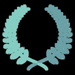 Icono de corona de laurel