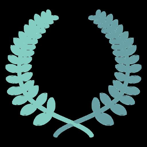 Laurel wreath icon Transparent PNG