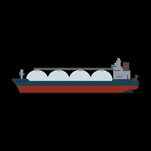Icono de nave portadora de lng Transparent PNG