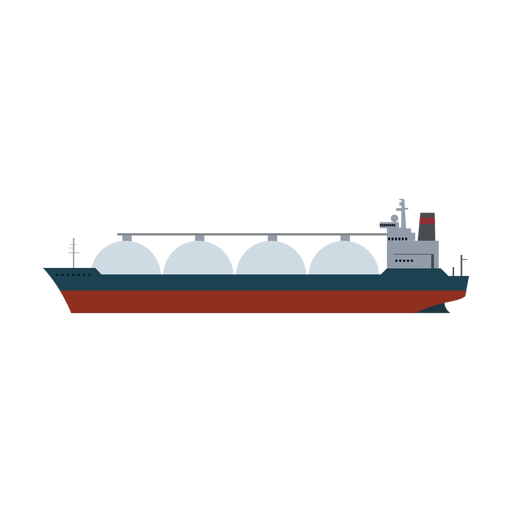 Lng carrier ship icon Transparent PNG