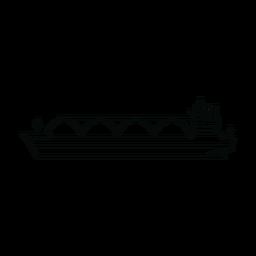 Línea de buque portador de GNL