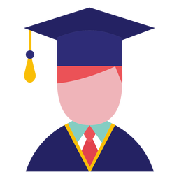 Avatar graduado masculino