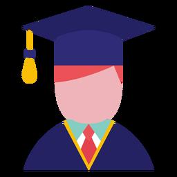 Male graduate avatar