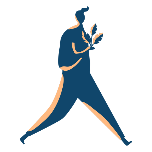 Man carrying tree silhouette Transparent PNG