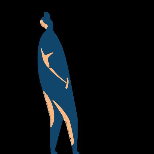 Man walking silhouette Transparent PNG