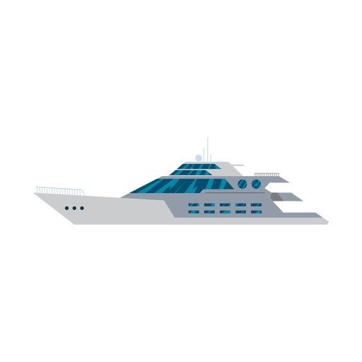Megayacht ship icon Transparent PNG