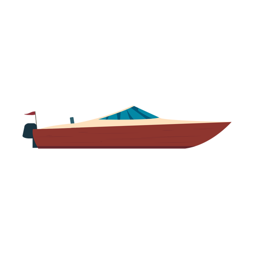 Motorboat boat icon Transparent PNG