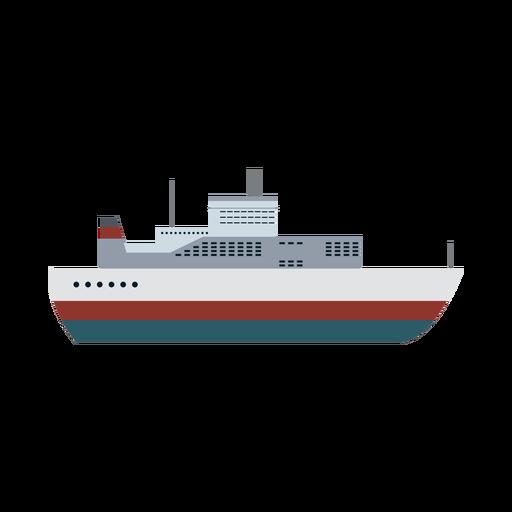 Ícone de navio de transatlântico Transparent PNG