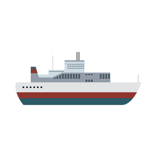 Ocean liner ship icon Transparent PNG