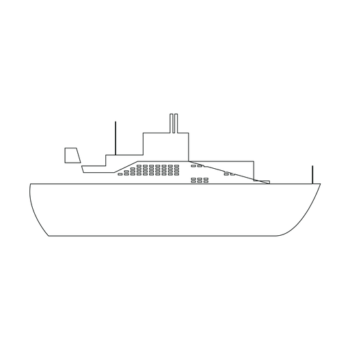 Ocean liner ship line Transparent PNG