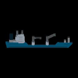 Icono de barco petrolero