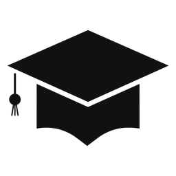 Oxford cap silhouette