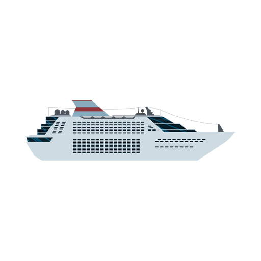 Passenger ship icon Transparent PNG