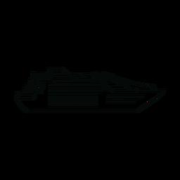 Línea de barco de pasajeros