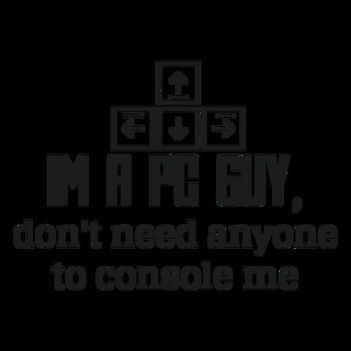 Pc guy t shirt graphic