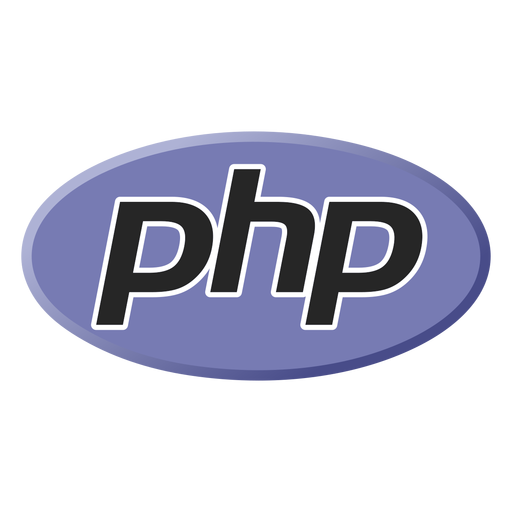 Ícone da linguagem de programação Php
