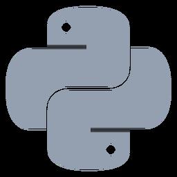 Linguagem de programação Python plana