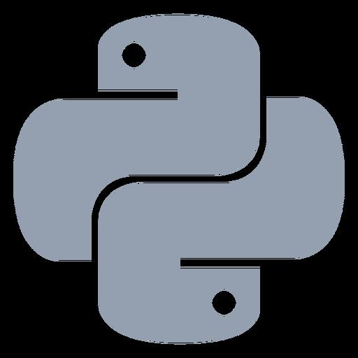 Python programming language flat Transparent PNG