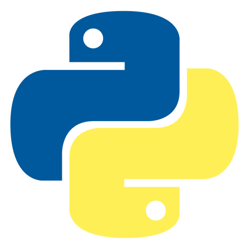 Python programming language icon Transparent PNG