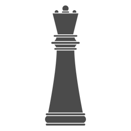 Königin Schachfigur