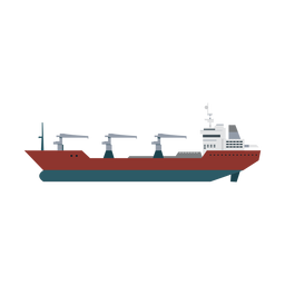 Replenishment oiler ship icon