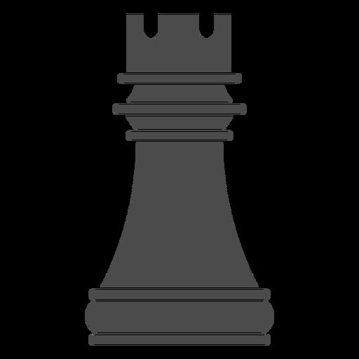 Pieza de ajedrez de torre Transparent PNG