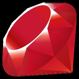 Ícone da linguagem de programação Ruby