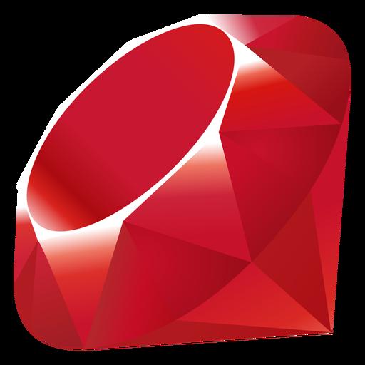 Ruby programming language icon Transparent PNG