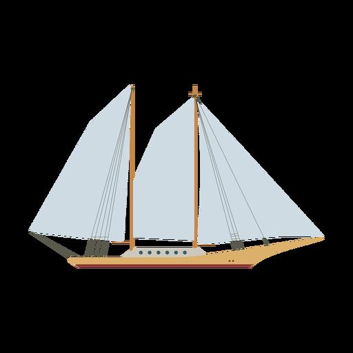 Schoner Schiff Symbol Transparent PNG