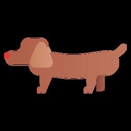 Einfache Hundeillustration