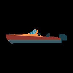 Icono de barco lancha