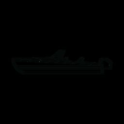 Speedboat boat line