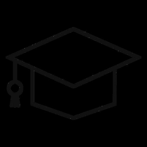 Linha acadêmica quadrada Transparent PNG