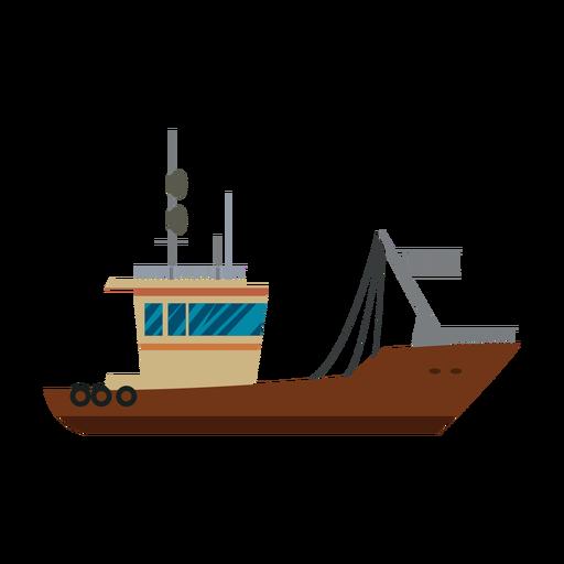 Ícone de navio de transporte Transparent PNG