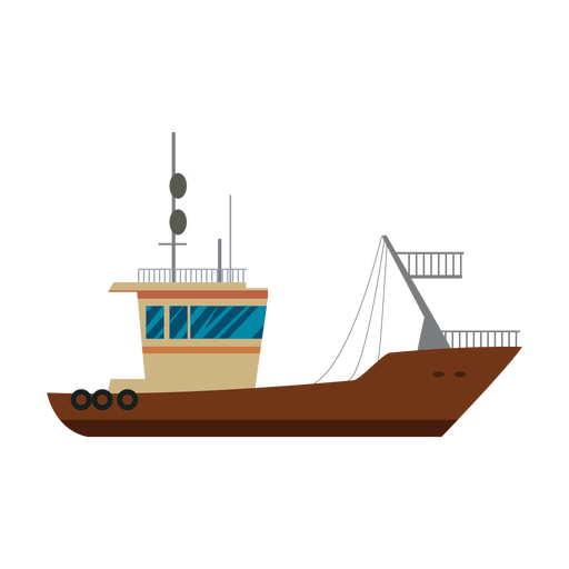 Icono de la nave de transporte Transparent PNG