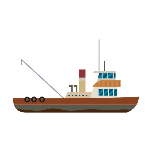 Schleppersymbol Schiff Transparent PNG