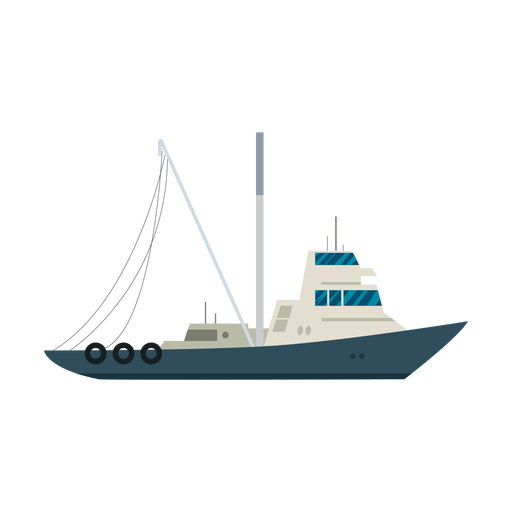 Tugboat ship icon Transparent PNG