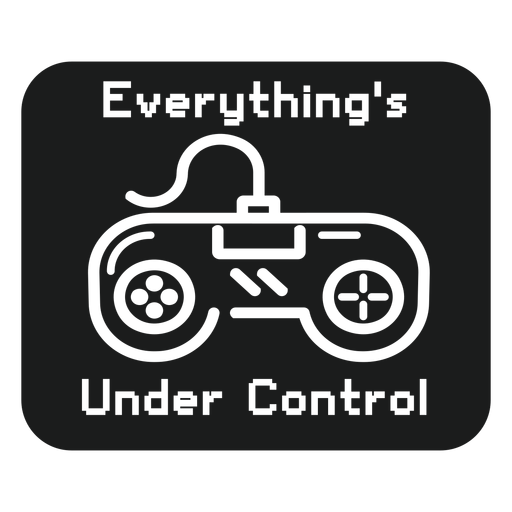 Under control t shirt graphic