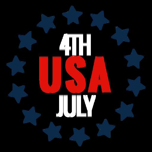 USA Kreis der Sterne-Symbol Transparent PNG