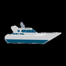 Icono de barco de yate