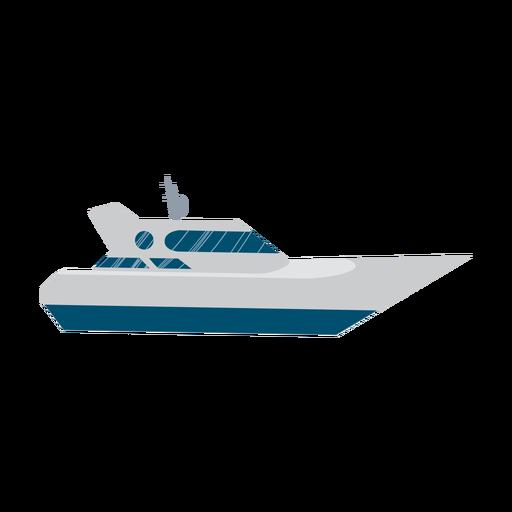 Icono de barco yate Transparent PNG