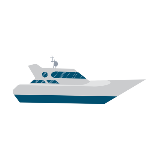 Yacht ship icon Transparent PNG