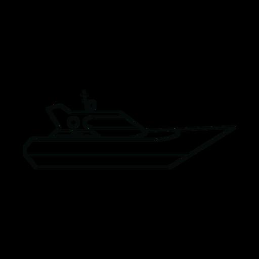 Linea de yates Transparent PNG