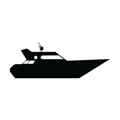 Yacht Schiff Silhouette Transparent PNG